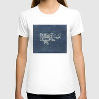 plane T-shirts featuring Plane by Mr and Mrs Quirynen