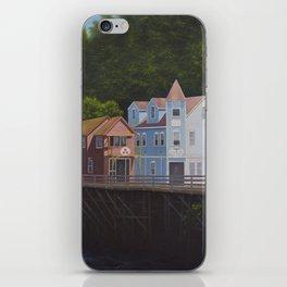 Ketchikan's Creek Street iPhone Skin