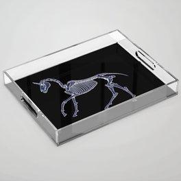 Unicorn Fossil Acrylic Tray