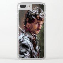 Occhi bassi Clear iPhone Case