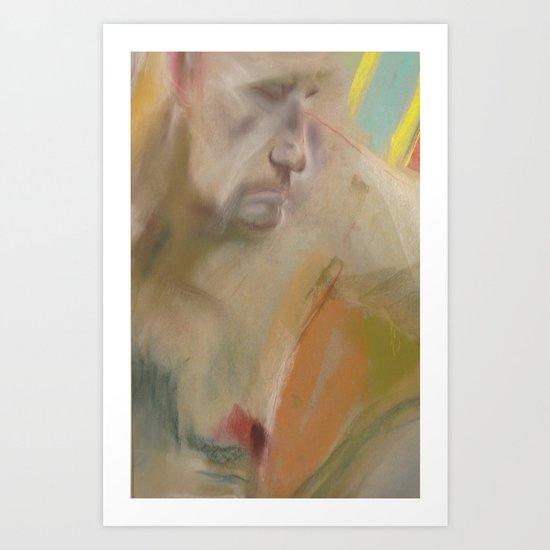 Klooster Series: Male Nude Hoorn Art Print
