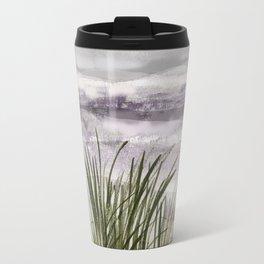 summer storm sea shore Travel Mug