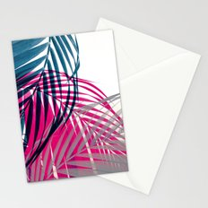 Trichromy Palms Stationery Cards
