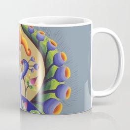 Peacock Illumination Coffee Mug