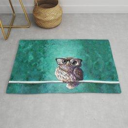 Intellectual Owl Rug