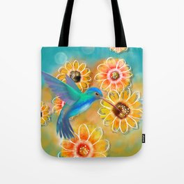 Hummingbird Bounty Tote Bag