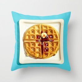 Waffle Throw Pillow