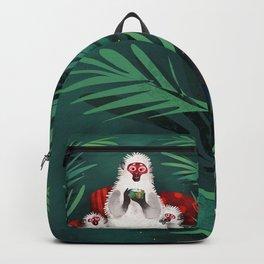 Urban Jungle Snow Monkeys Backpack