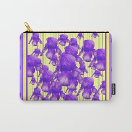 I LOVE PURPLE IRIS Carry-All Pouch