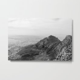 African Mountains Metal Print
