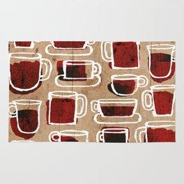 morning pattern Rug