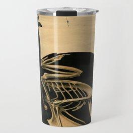 Squelette de coq Travel Mug