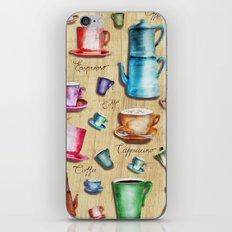Coffee time! 2.0 iPhone & iPod Skin