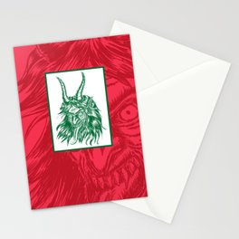 Here Comes Krampus! Stationery Cards