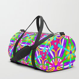 Girly Festival Geo - Geometric Pattern 2 Duffle Bag