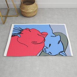 Love Cats Rug