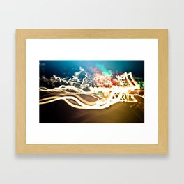 Confusion Framed Art Print