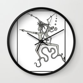 Look to the West Wall Clock
