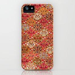 Garahgozloo Hamadan West Persian Long Rug Print iPhone Case