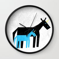 dad Wall Clocks featuring Thanks Dad by That's So Unicorny