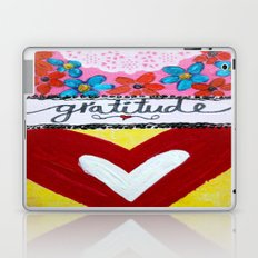 Hello Gratitude Laptop & iPad Skin