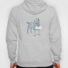 complicated character Hoody