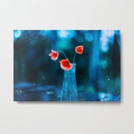 Poppies 03 Metal Print