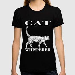 Creative Cat Tee For Men And Women T-shirt