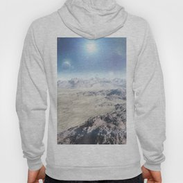 THE SURFACE OF ALIEN PLANET Hoody