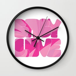 Baby Love Collection Wall Clock