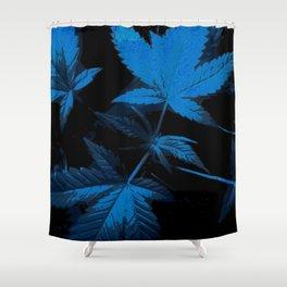 DaPlant - Blue --- #GREENRUSH Shower Curtain