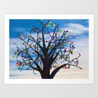 Tree of Delight Art Print
