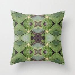Almond Tree Pattern Throw Pillow