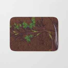 Western juniper tree portrait Bath Mat