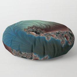 Velvet Crush - Fractal Art Floor Pillow