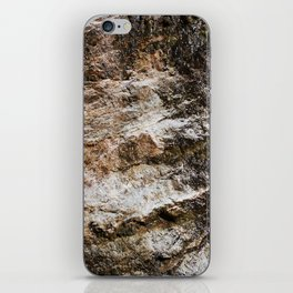 WATER OVER ROCKS. iPhone Skin