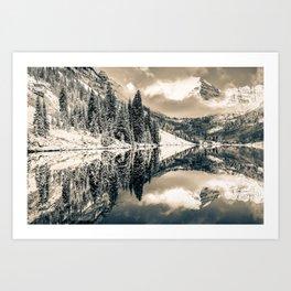 The Beautiful Bells - Aspen Art Print