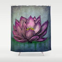 Lotus Flower Shower Curtain