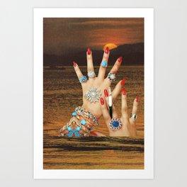 Non-Renewable Brats Art Print