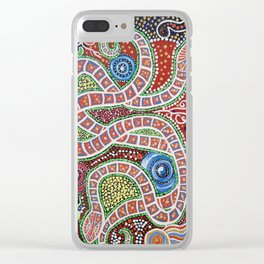 SPIRIT OF THE WATERHOLES Clear iPhone Case