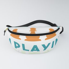 Chess King Queen figure Springer Fanny Pack