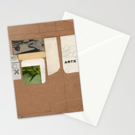 new beginning - arts Stationery Cards