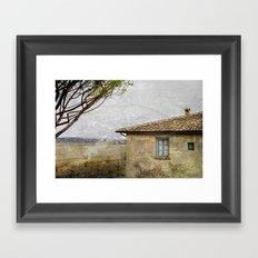 Italian Farm Framed Art Print