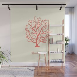 AFE Branch Coral, Living Coral Wall Mural