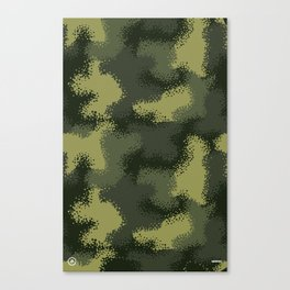 MPat Camouflage Pattern Canvas Print