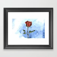 The Little Prince's Rose Framed Art Print