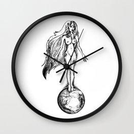 Nut Egyptian Goddess of the Sky Wall Clock