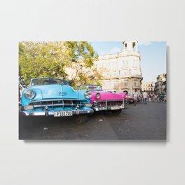 Havana In Color Metal Print