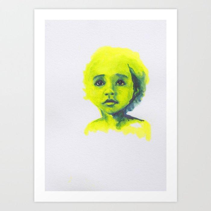 Petites têtes 7 Art Print