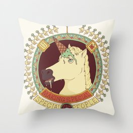 Something Special. Throw Pillow